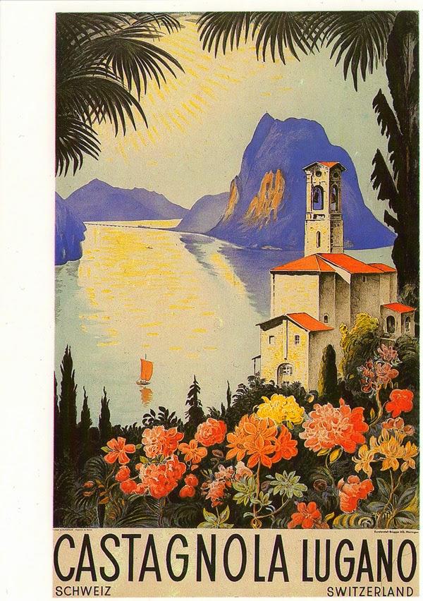 Castagnola Lugano Palmen Schweiz Tessin Ticino Sonne Luganer See