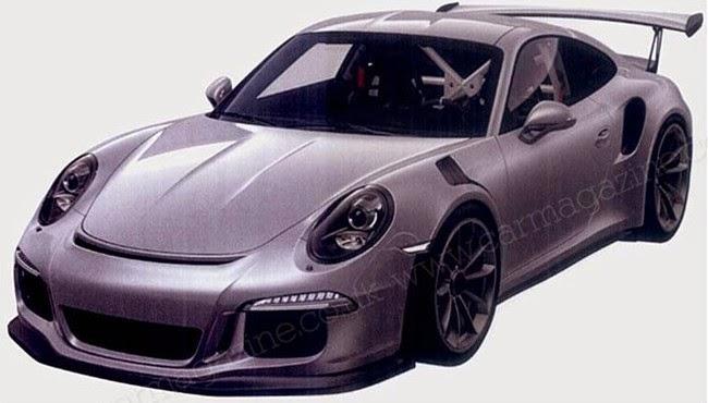 Porsche 911 GT3 RS 2015
