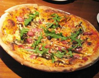 Resep Pizza Sapori di Bosco