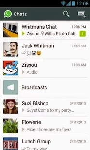Download free apk file of latest version of whatsapp