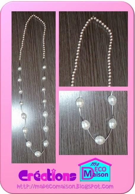 cokkier en perles relooké
