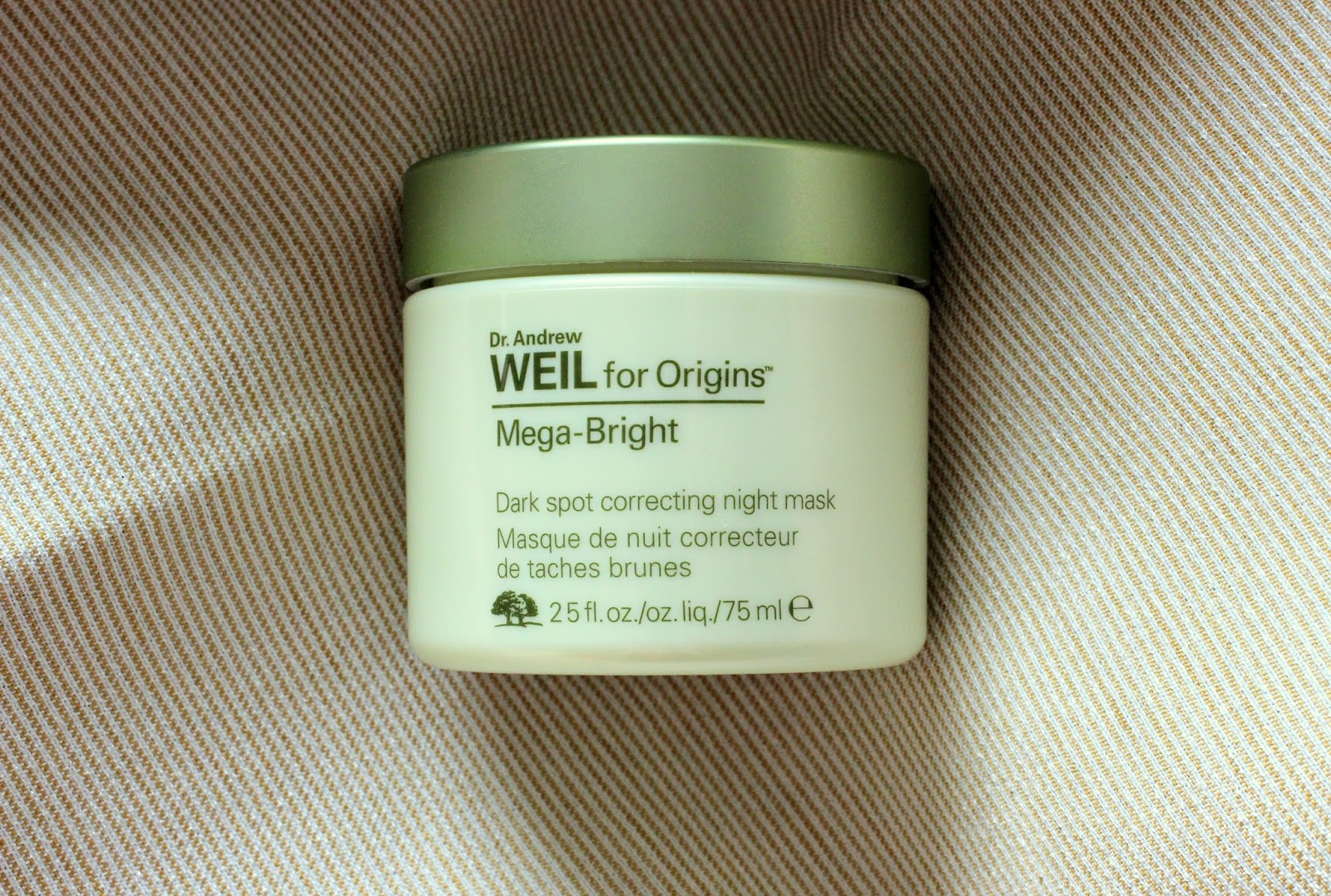 Dr Weil Origins Mega-Bright Dark Spot Correcting Night Mask Review