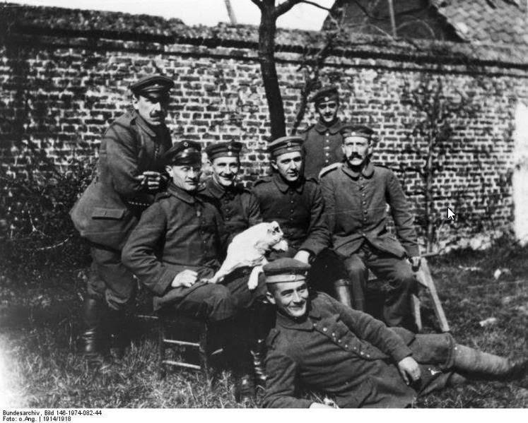 Hitler en la I Guerra Mundial