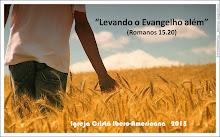 2015: LEVANDO O EVANGELHO