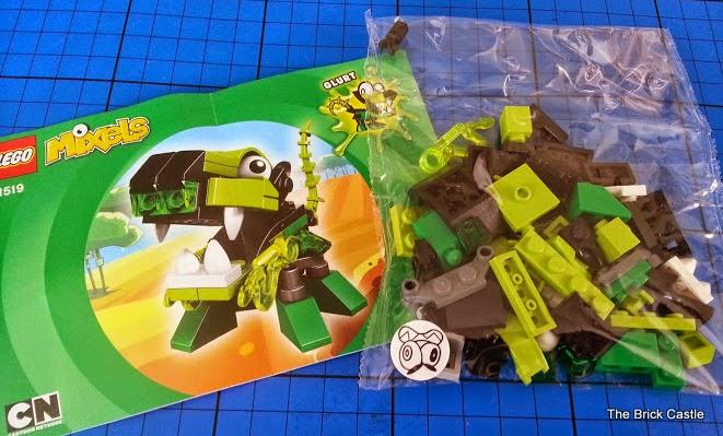 LEGO Mixels Series 3 - Glurt 41519 Glorp Corp doglike