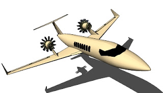 Trimble 3D Warehouse - Avion Comercial Airplane