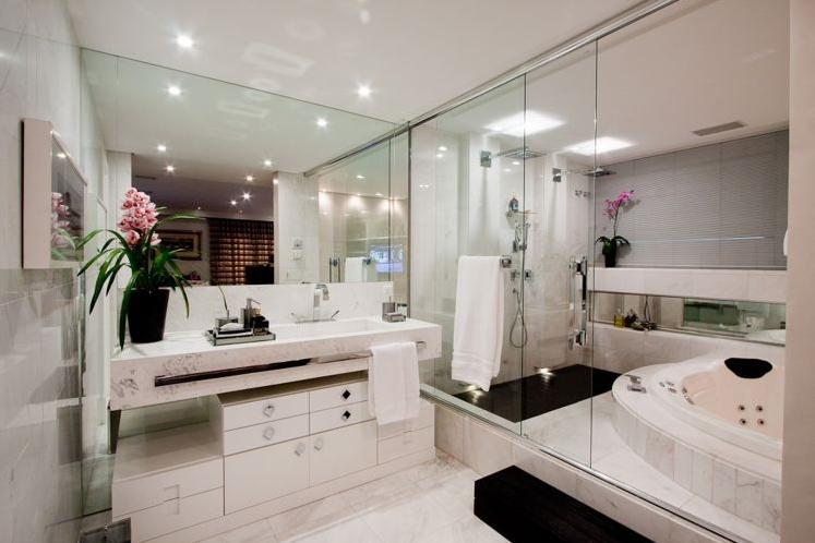 decoracao banheiro jovem : decoracao banheiro jovem:Banheiros com Banheiras! 30 Modelos maravilhosos! – Decor Salteado