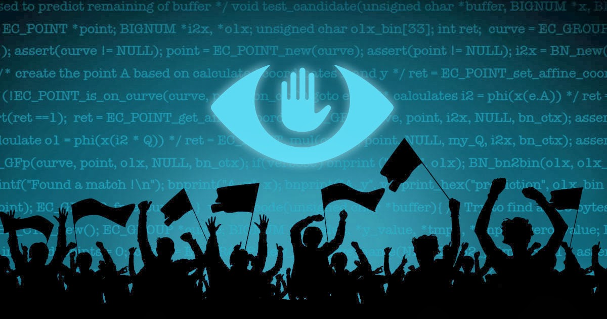 MASS SURVEILLANCE MUST STOP