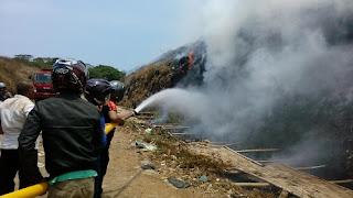 TPA Regional Degayu Kebakaran