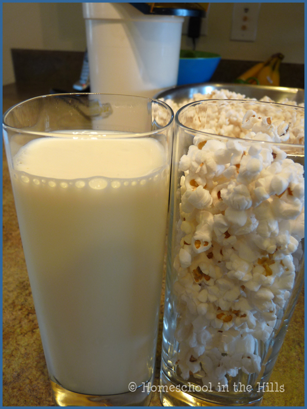 Ridgetop Ramblings 2 Popcorn In Milk