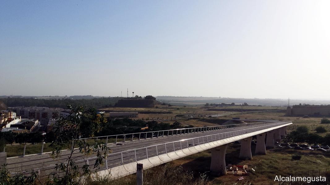 vías del tranvía de Alcalá de Guadaíra