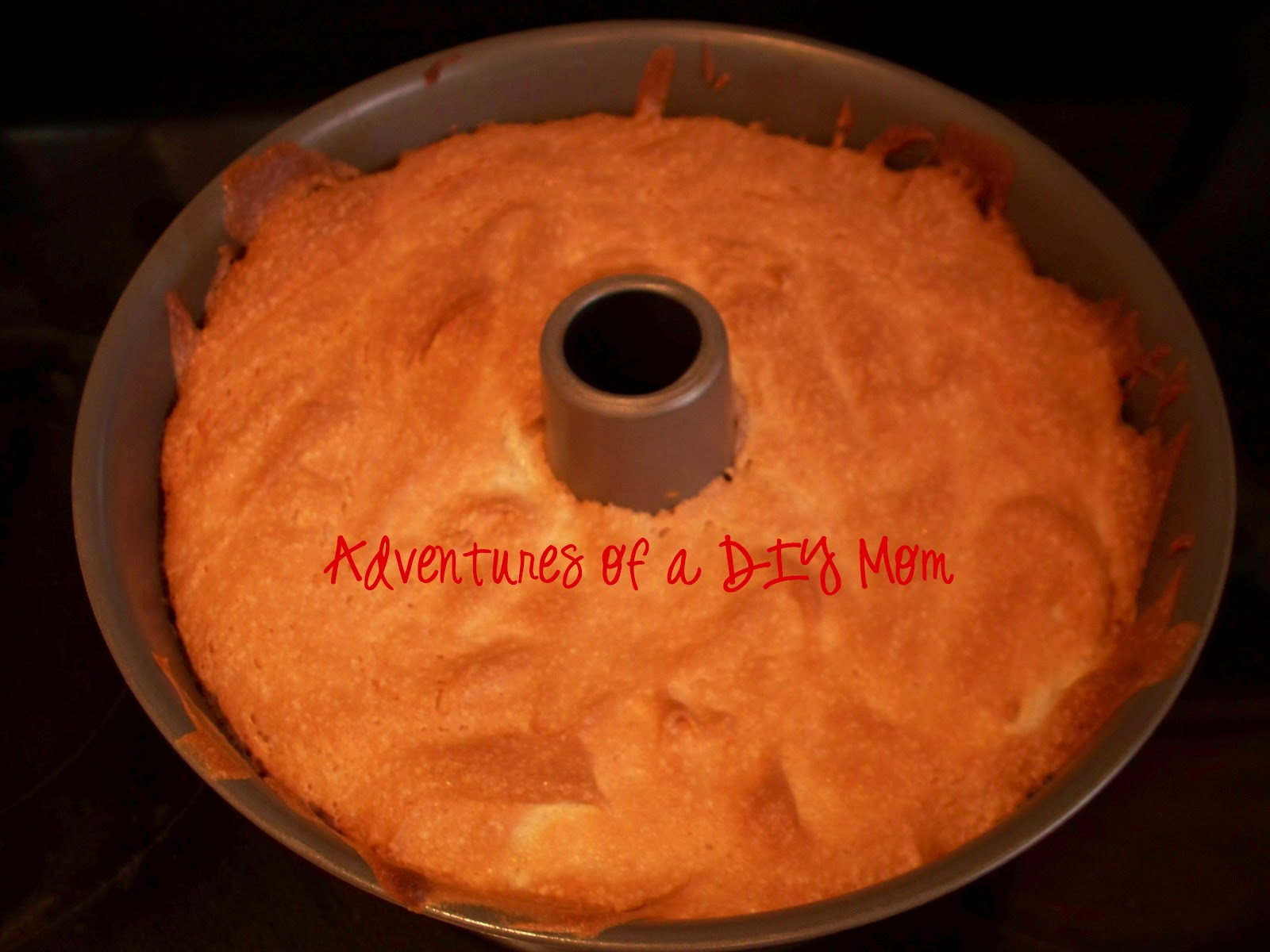 Angel Food Cake With Berries Adventures Of A Diy Mom