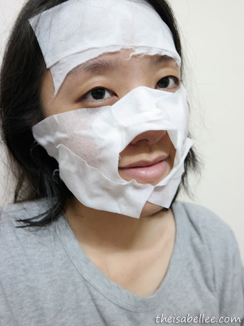 Use SkinSoul Ultra-Soft Facial Towelettes as mask