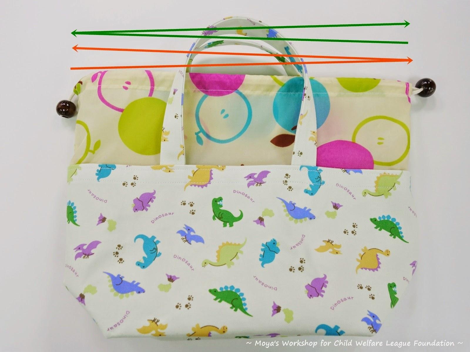 ... 兒福聯盟公益便當袋 – 作法步驟分享 Charity Lunch Bag
