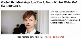 Ann Yee Autumn Winter 2014. Get the Hair Look.