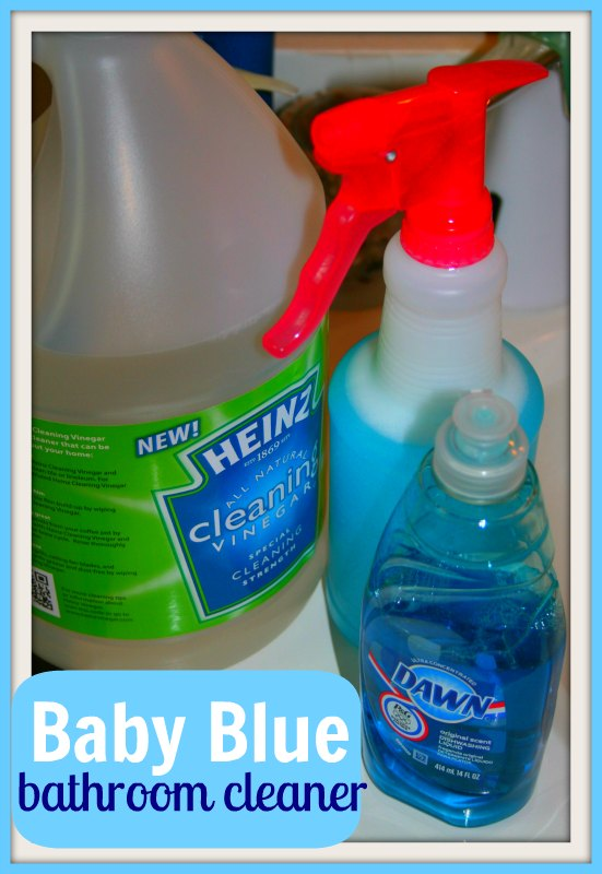 cafe diy homemade cleaner recipe and bathroom cleaning tools