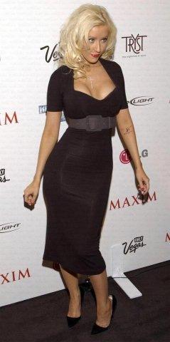kristina agilera little black dress