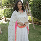 Nitya meenon Latest Photo Gallery in Salwar Kameez at New Movie Opening 30