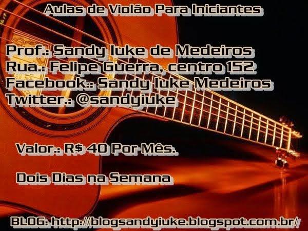 Aulas de violão: