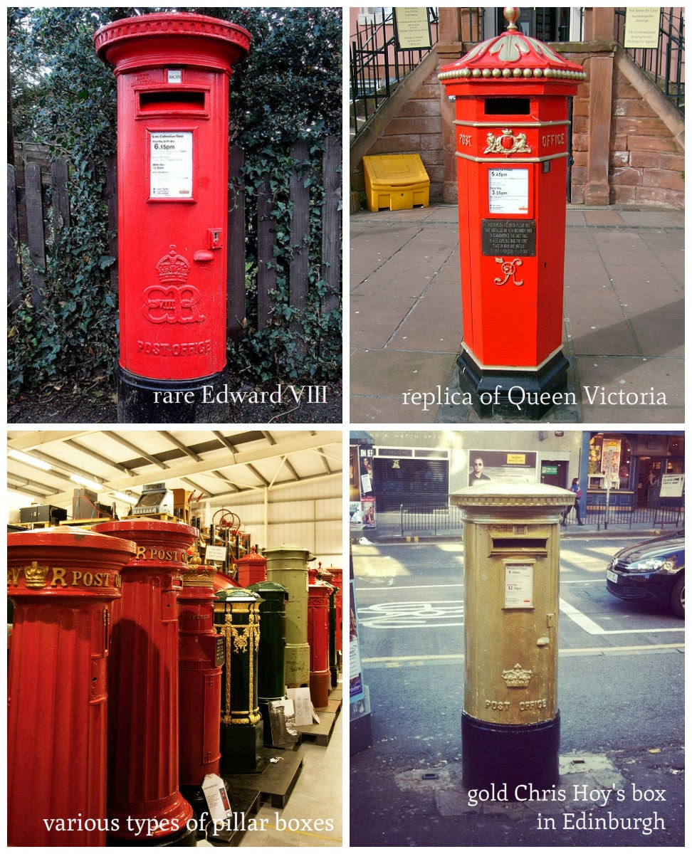 Travelling In The Uk British Icons Red Pillar Letter Boxes