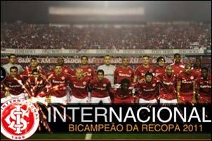Internacional é o campeão da Recopa