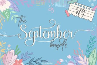 September Font Bundle