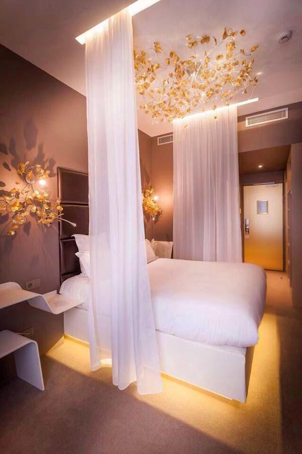 10 أفكار مدهشة لديكور غرف نوم فنادق   بوابة وادي فاطمة الالكترونية
