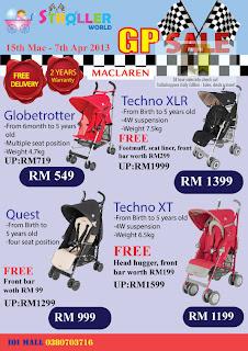 Stroller World GP Sale 2013