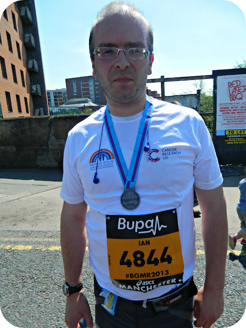 Finished the Bupa Great Manchester Run 2013