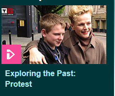 protest bbc programme