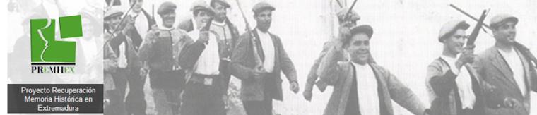 Proyecto Recuperación Memoria Histórica en Extremadura