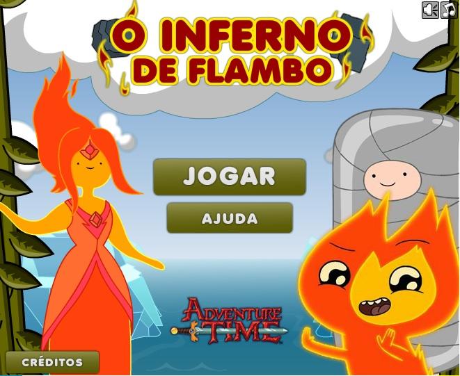 Hora de Aventura – O Caos Incendiario de Flambo