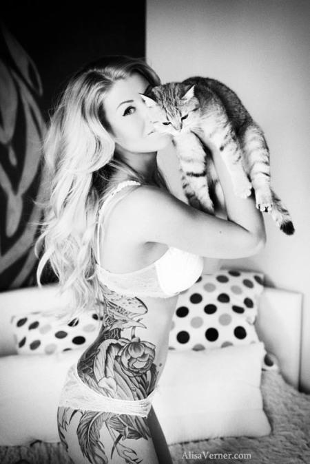 alisa verner fotografia mulheres lindas modelos russas gatinha