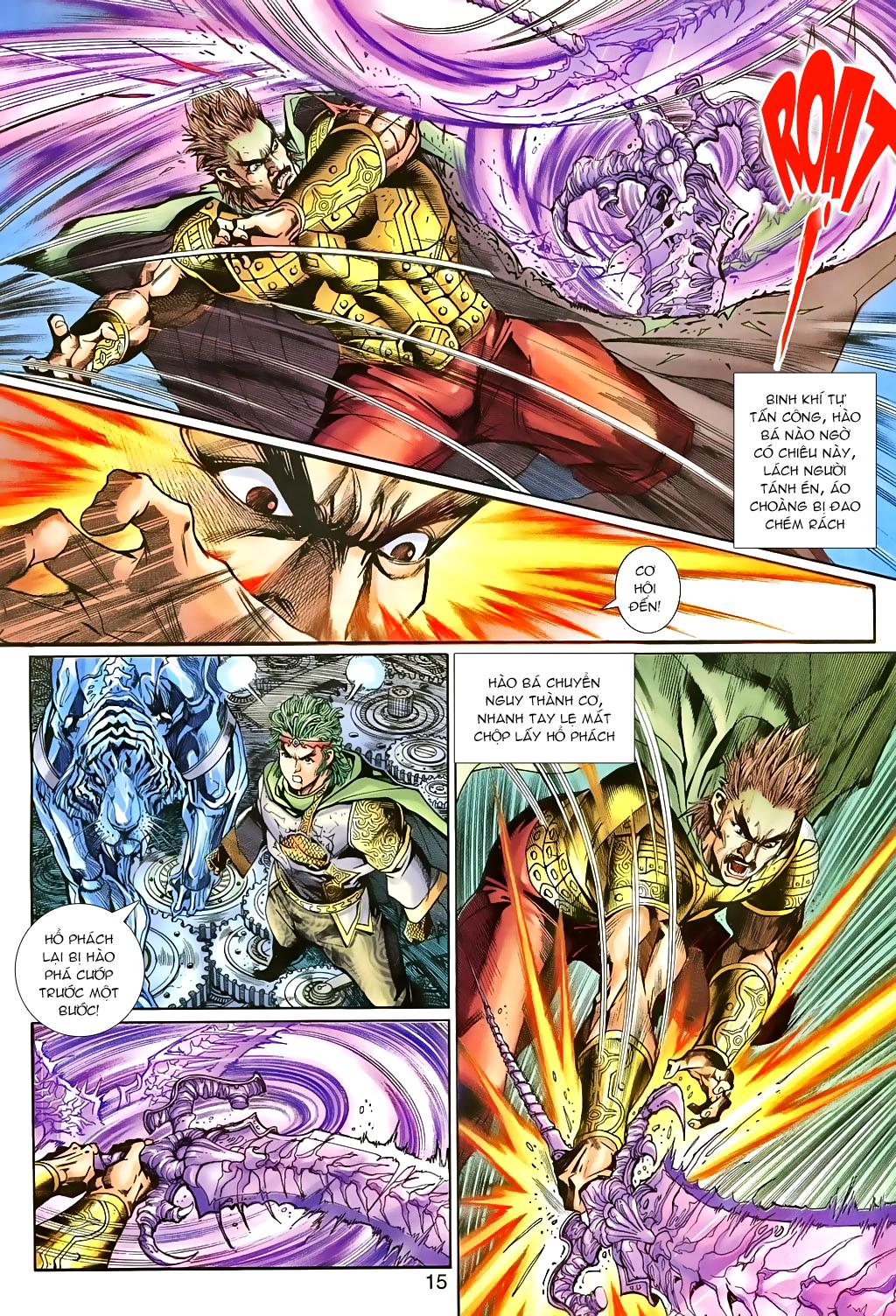 Thần binh huyền kỳ 3 - 3.5 Chapter 81 - Hamtruyen.vn