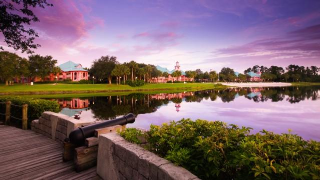 Hotéis Disney Orlando Resorts Caribbean Beach Hotel moderado