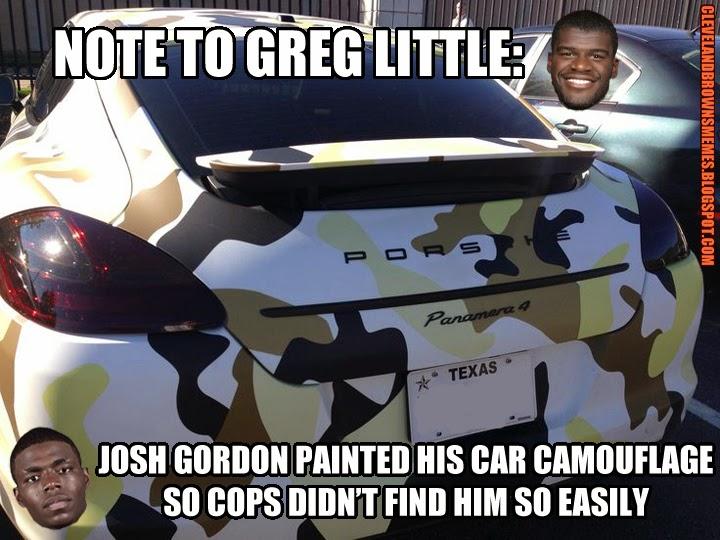 Josh Gordon Memes at Cleveland Sports Memes