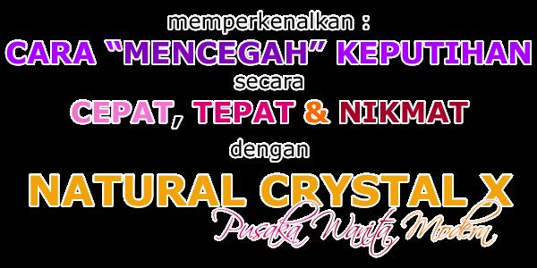 Order Crystal X sekarang juga