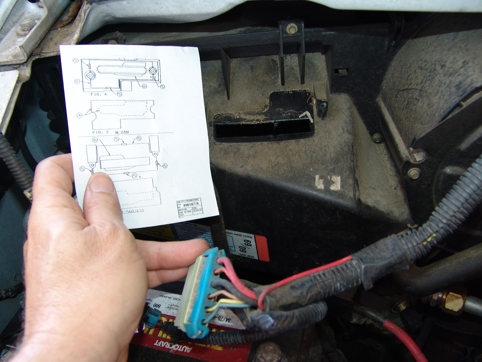 Canister purge valve solenoid location 2006 chevrolet for 2003 chevy express cabin air filter