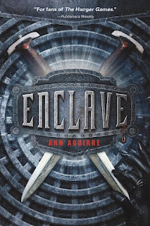 bookcover of ENCLAVE by Ann Aguirre