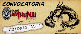 CONVOCATORIA INTERNACIONAL PARA GUIONISTAS 2013 PARA CLAN NAHUALLI - COLOMBIA