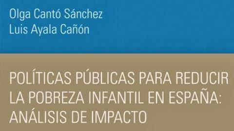 Políticas Públicas para reducir la pobreza infantil en España