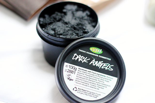 lush dark angels face cleanser