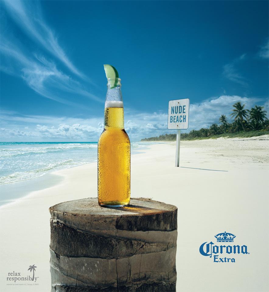 publicidad, anuncios, nude beach