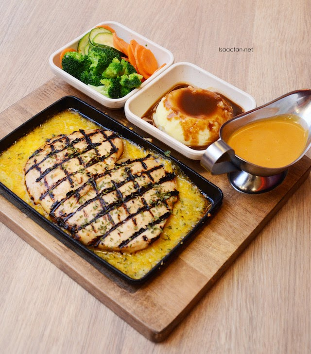 Sizzling Chicken and Cheese - RM27.45