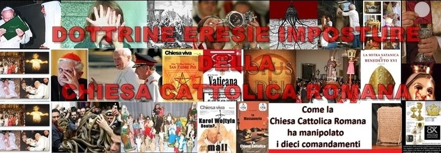 ERESIE CHIESA CATTOLICA ROMANA
