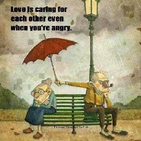 DP BBM Romantis Kakek Nenek