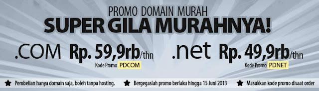 Promo Harga Domain Murah di MWN