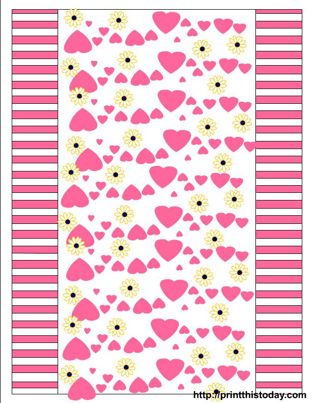 Corazones para San Valentín. Varios Kits para Imprimir Gratis ...