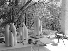"""""""Népenthes"""" en création à l'atelier..."""