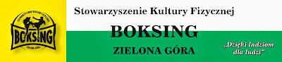 Stowarzyszenie Kultury Fizycznej Boksing Zielona Góra, kickboxing, k-1, muaythai, boks, treningi,
